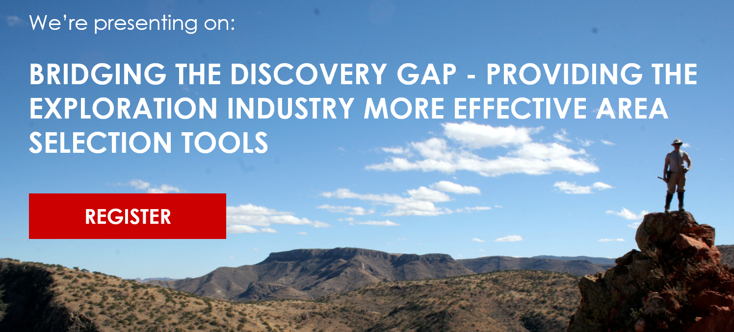 Bridging the Discovery Gap - Providing the Exploration Industry More Effective Area Selection Tools