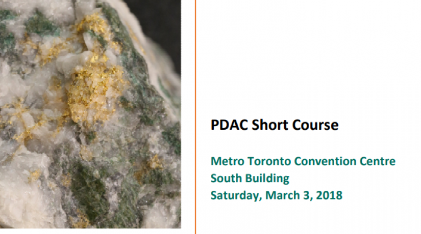 2018 MERC PDAC Gold Course