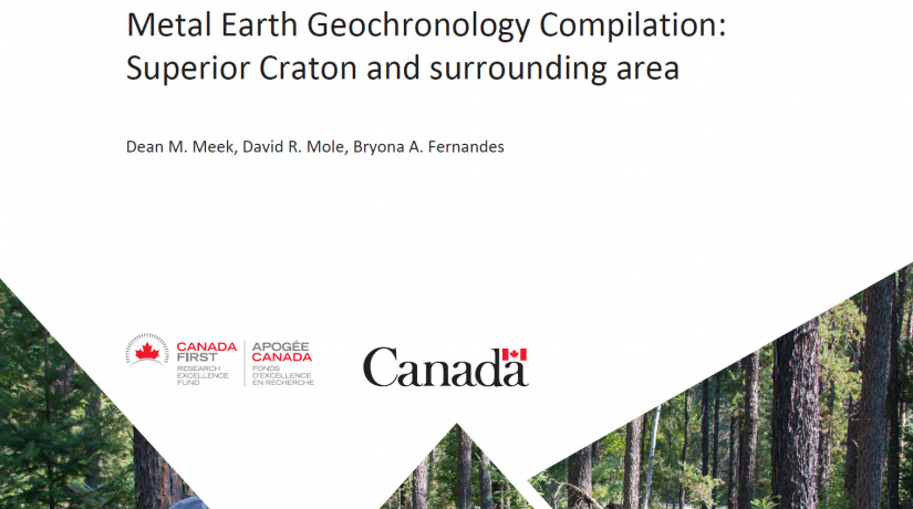 Metal Earth Geochronology Compilation: Superior Craton and surrounding area
