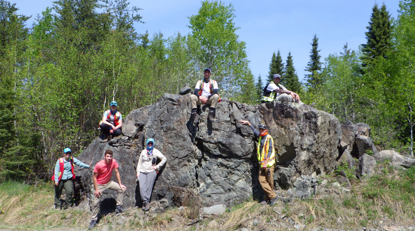 Group Photo MERC Field Season 2020
